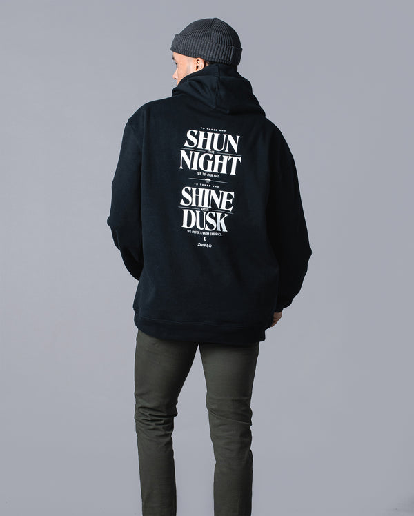Shun The Night Hoodie- Black