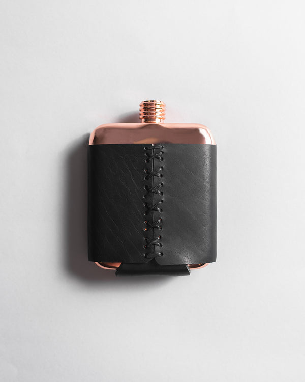 Stitch & Copper Flask