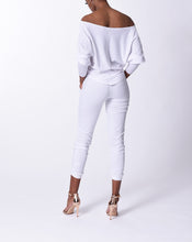 Load image into Gallery viewer, LINDSEY - L/S Top - White