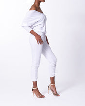 Load image into Gallery viewer, JESSICA - Drawstring Pants - White