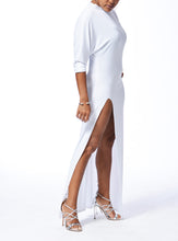 Load image into Gallery viewer, MILAN - Long Slit Dress - White