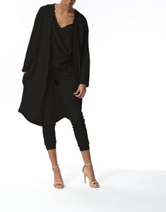 MONICA - Cardigan - Black