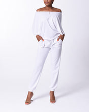 Load image into Gallery viewer, ELENA - Open Arm Top - White