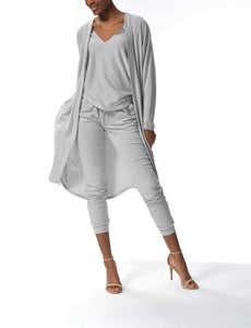 MONICA - Cardigan - Grey