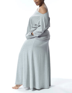 MELIA - Short Top/Dress with pockets - Grey -S-020