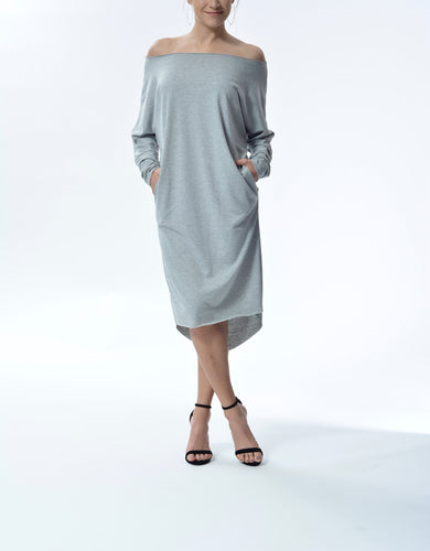 MJ - Dress - Grey