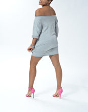 Load image into Gallery viewer, MELIA - Short Dress w/ pockets - Grey