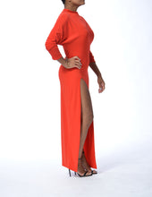 Load image into Gallery viewer, MILAN - Long Slit Dress - Red - Limited Edition