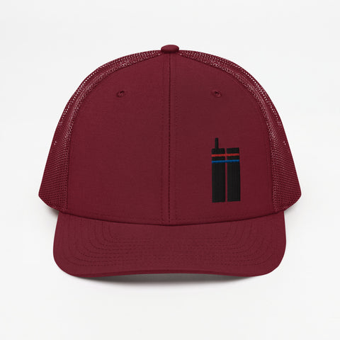9.11 Twin Towers Trucker Hat