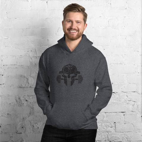 Black Helmet Purpose Driven No Quit Hoodie