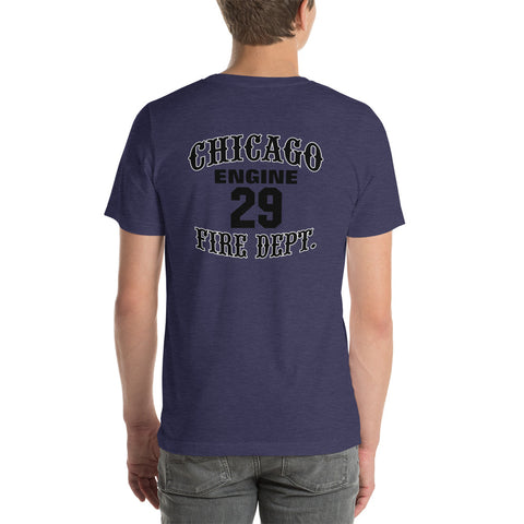 Chicago FD Engine 29 White Sox Bella Canvas Tee