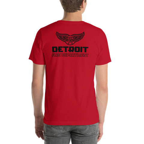 Detroit Red Wings Fire Department Bella Canvas Duty Tee