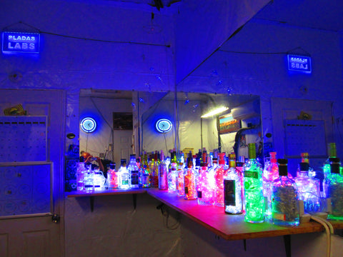 110V Liquor Bottle Lights