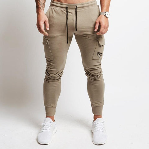 NEW gyms Mens Joggers Pants Fitness - Zerovov