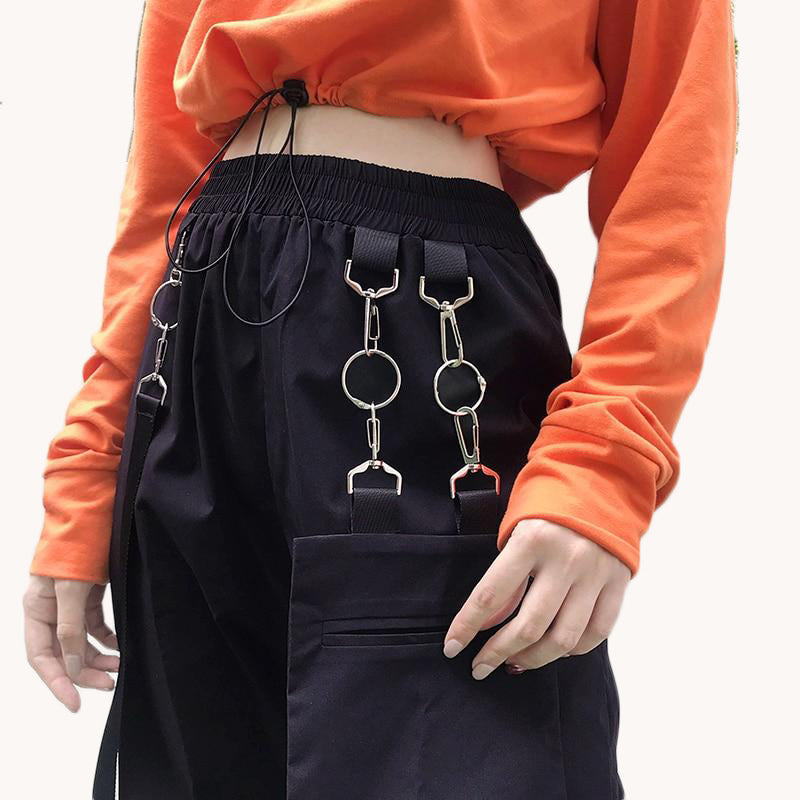 Hip-Hop High Waist Trouser