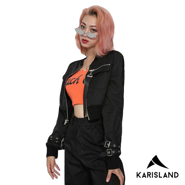 karisland Slick Leather Jackets - karisland