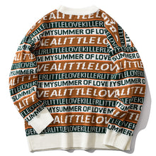 Load image into Gallery viewer, Fashion Letter Pullovers Knittwear