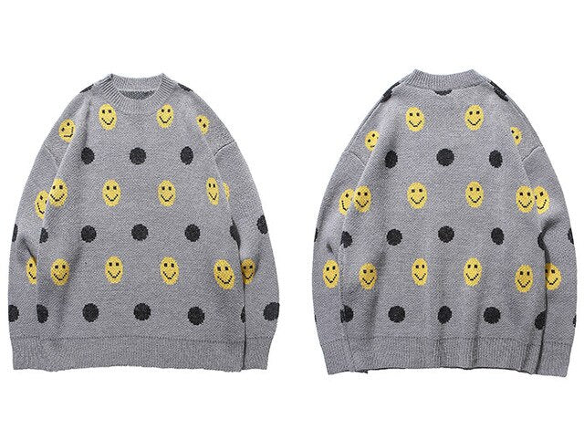 karisland Gray / XXL Vintage Knitted Pullover Sweaters - karisland