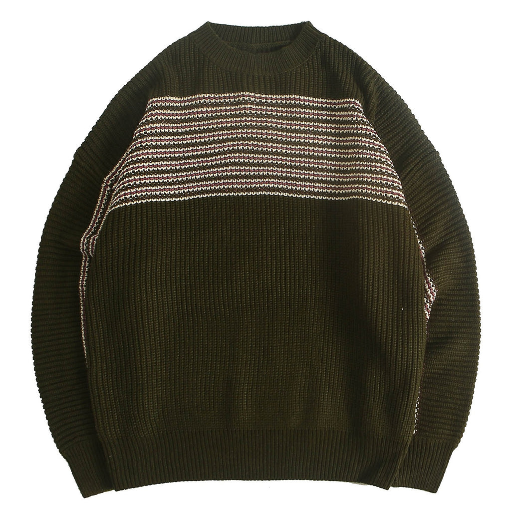 karisland Striped Knitted Men's Sweaters - karisland