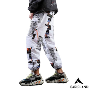 Graphic Jogger Pants