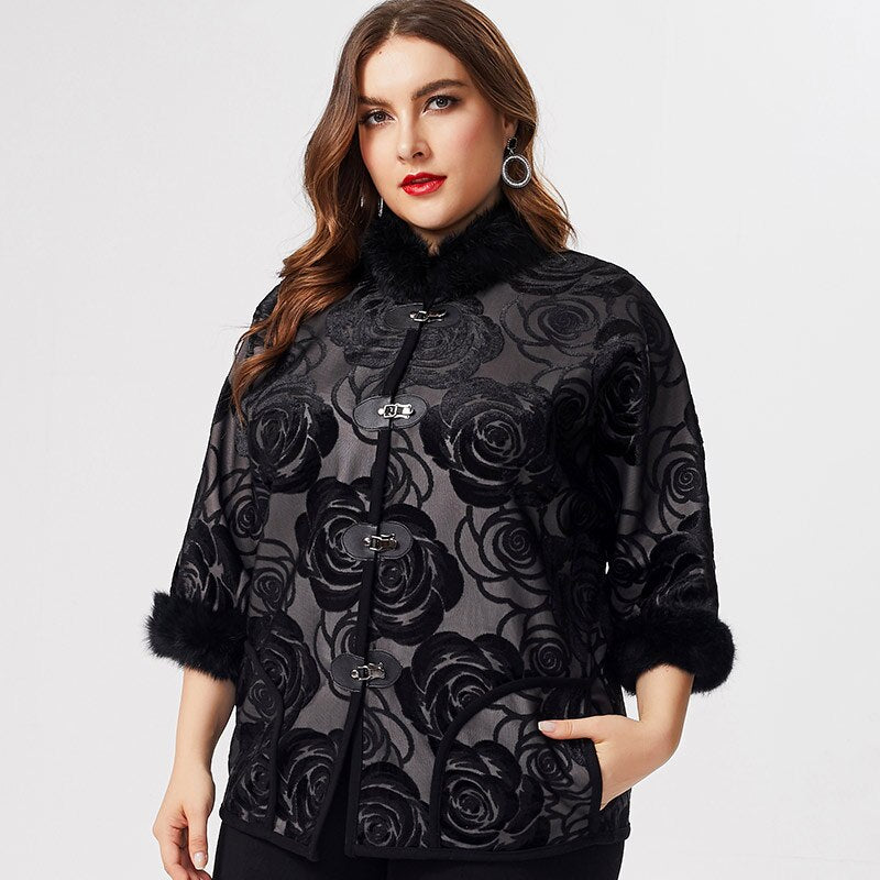karisland Embroidered Coat - karisland