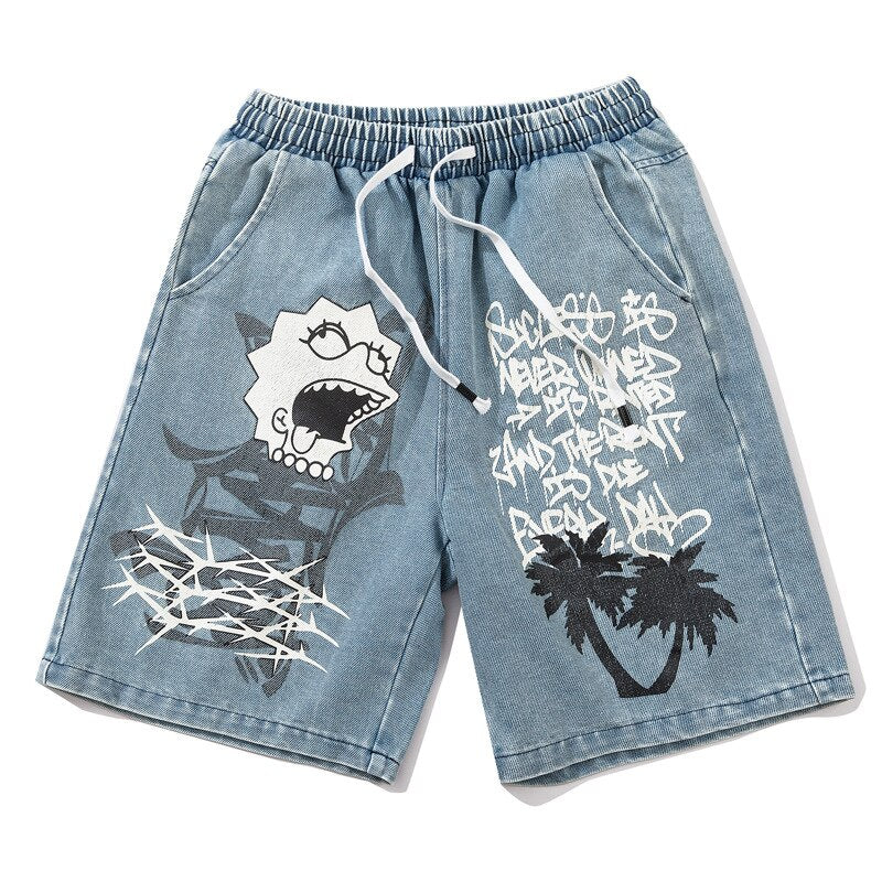 karisland Boston Cartoon Shorts - karisland