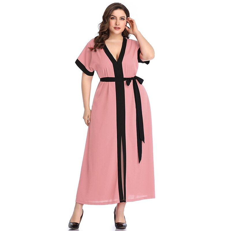 karisland Pink dress / XXL Summer Maxi - karisland