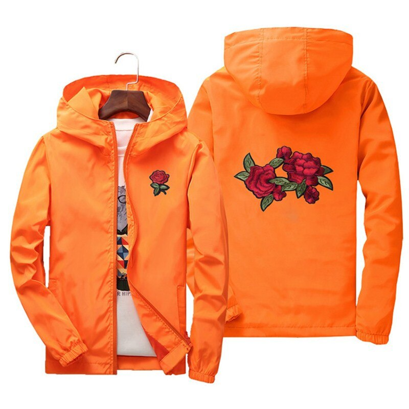 karisland orange / S Hip-Hop Jacket - karisland