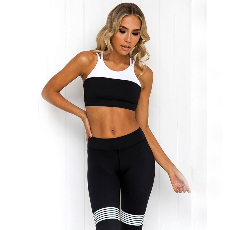 Yoga Sets Women Gym Clothes Women's 2Pieces Suits  Fitness Seamless Sport Leggings Tops Yoga Jumpsuit Sportswear Clothing,ZF182