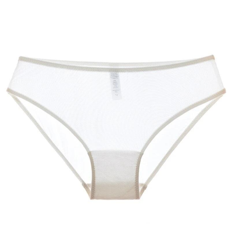 2019 Fashion Low-rise transparent panties women lace Black sexy briefs comfortable Ultrathin Solid Underwear S M L XL Size