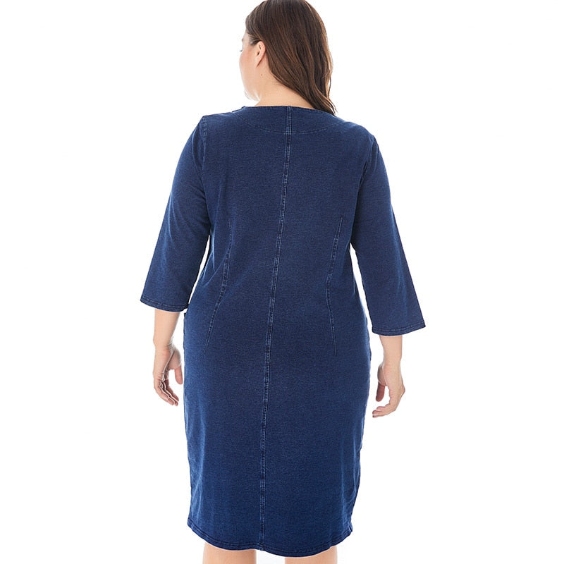 karisland Noble-denim Dress - karisland