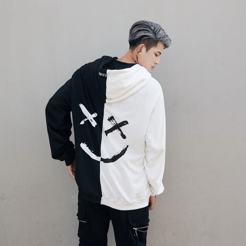 karisland White / S Double Faced Hoodie - karisland