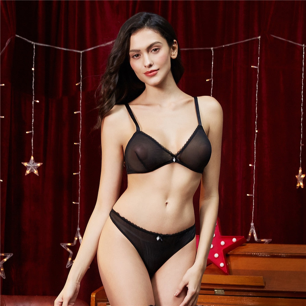 karisland Anna See-Through Lingerie Set - karisland
