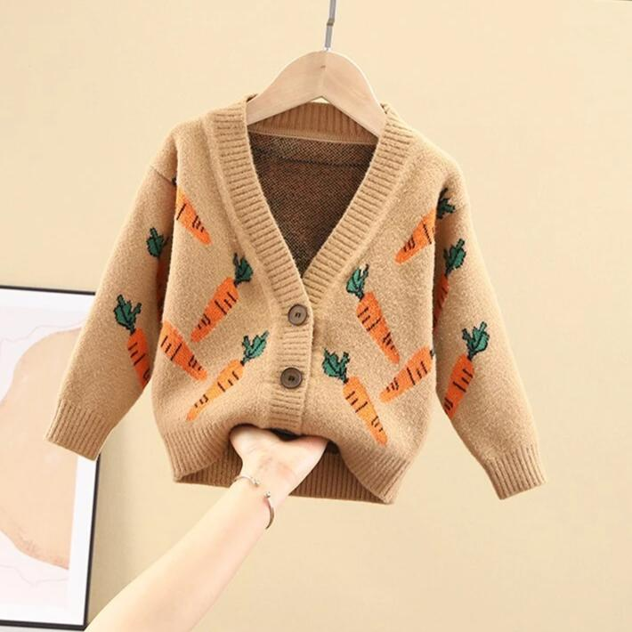 karisland brown / 2T Girl Sweater - karisland