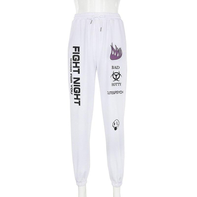 karisland White / S Lainey Sweatpants - karisland