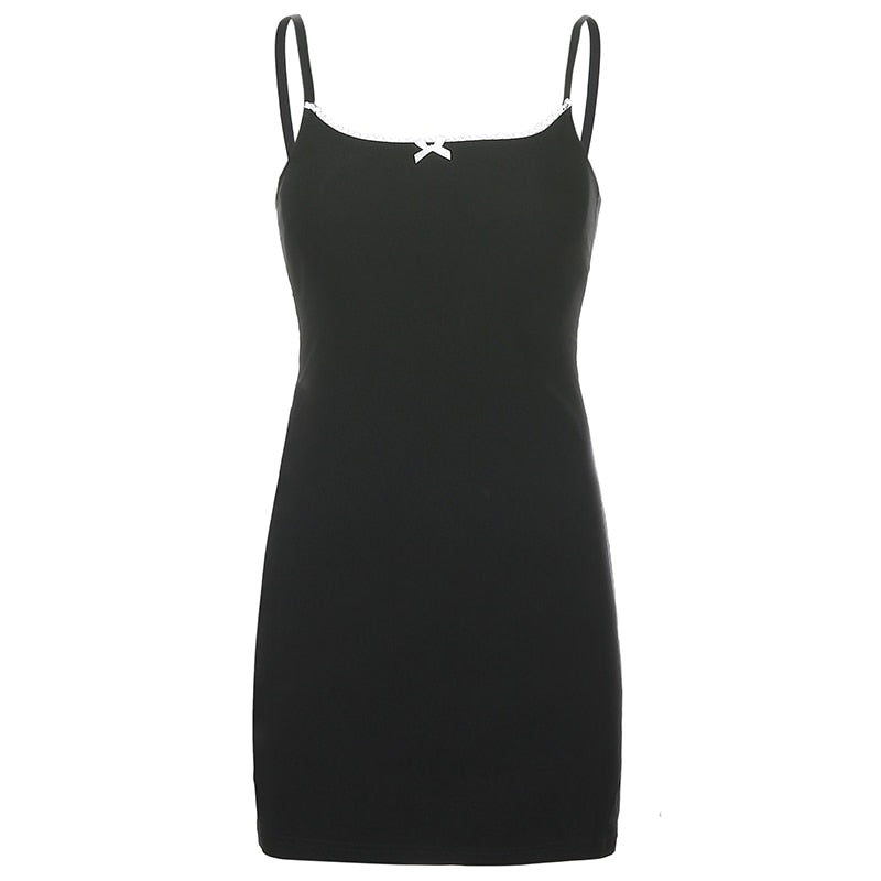 karisland Black / S Vintage Mini Dress - karisland