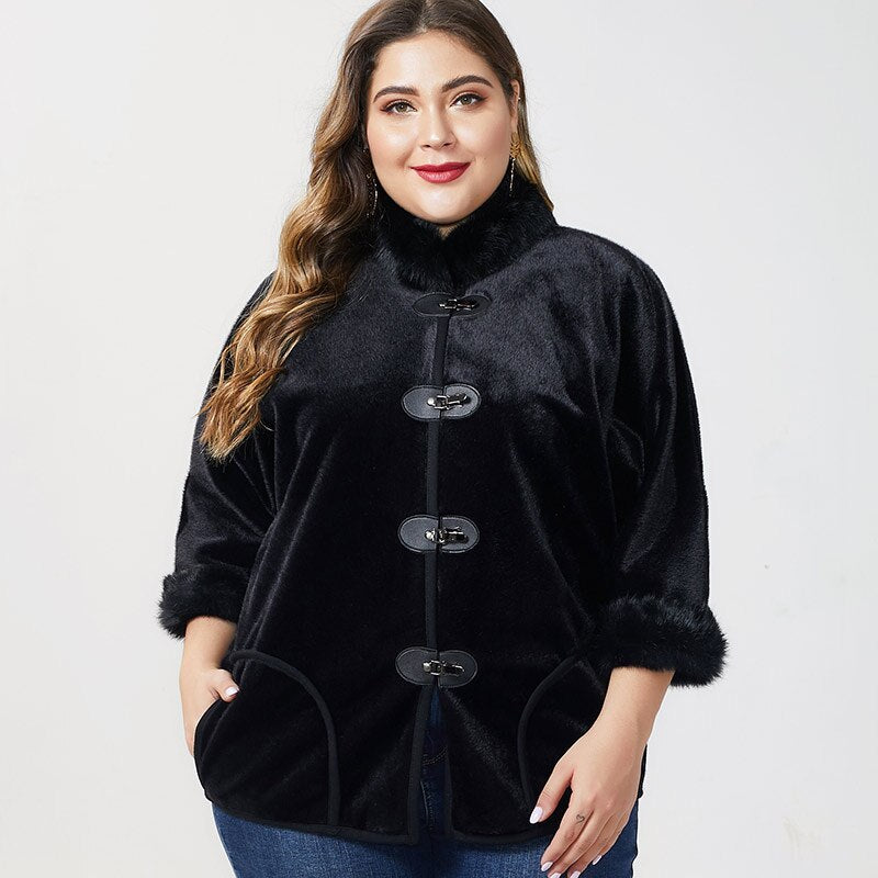 karisland Black / XL Eliza Leather Jacket - karisland