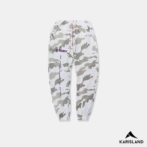 Casual Hip Camouflaged Pants