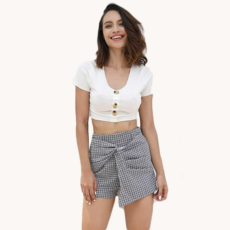 karisland Plaid Shorts - karisland