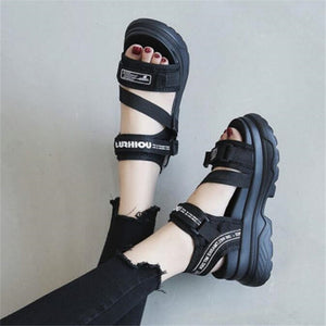 Beach Leather Sandals