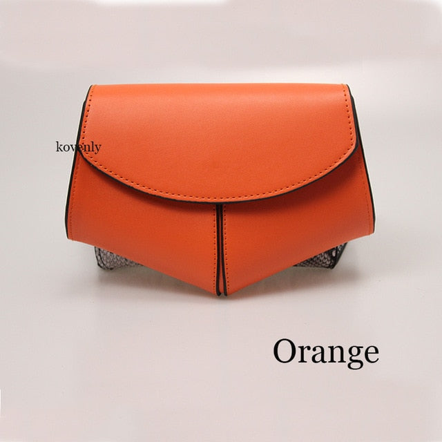 karisland Orange waist bag Cheyenne New Fashion Waist Belt Leather Shoulder Bag - karisland