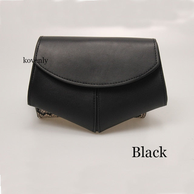 karisland Black waist bag Cheyenne New Fashion Waist Belt Leather Shoulder Bag - karisland