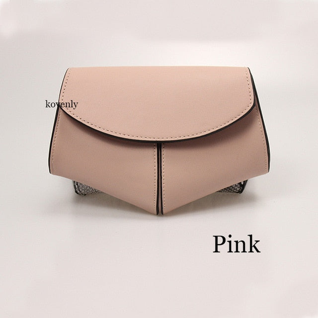 karisland Pink waist bag Cheyenne New Fashion Waist Belt Leather Shoulder Bag - karisland