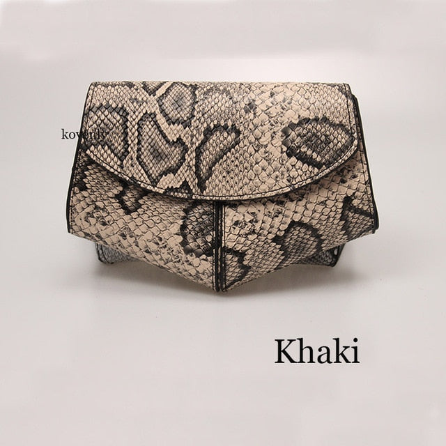 karisland Khaki waist bag Cheyenne New Fashion Waist Belt Leather Shoulder Bag - karisland