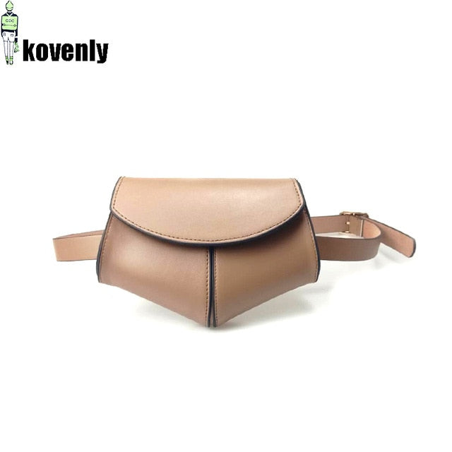 karisland Coffee waist bag Cheyenne New Fashion Waist Belt Leather Shoulder Bag - karisland
