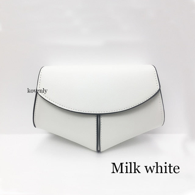 karisland Milk white bag Cheyenne New Fashion Waist Belt Leather Shoulder Bag - karisland