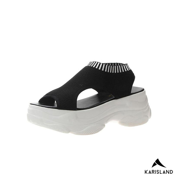 karisland black / 4.5US / 35EU Gladiator Sandals - karisland