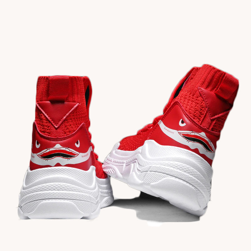 Karisland Red / 35 Ashley Off Duty Sneakers - karisland