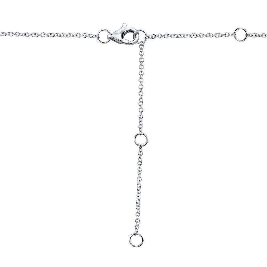 Shy Creation 0.29CTW Diamond Halo Lariat