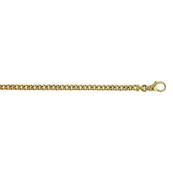 14K Yellow Gold 4.5mm Curb Chain
